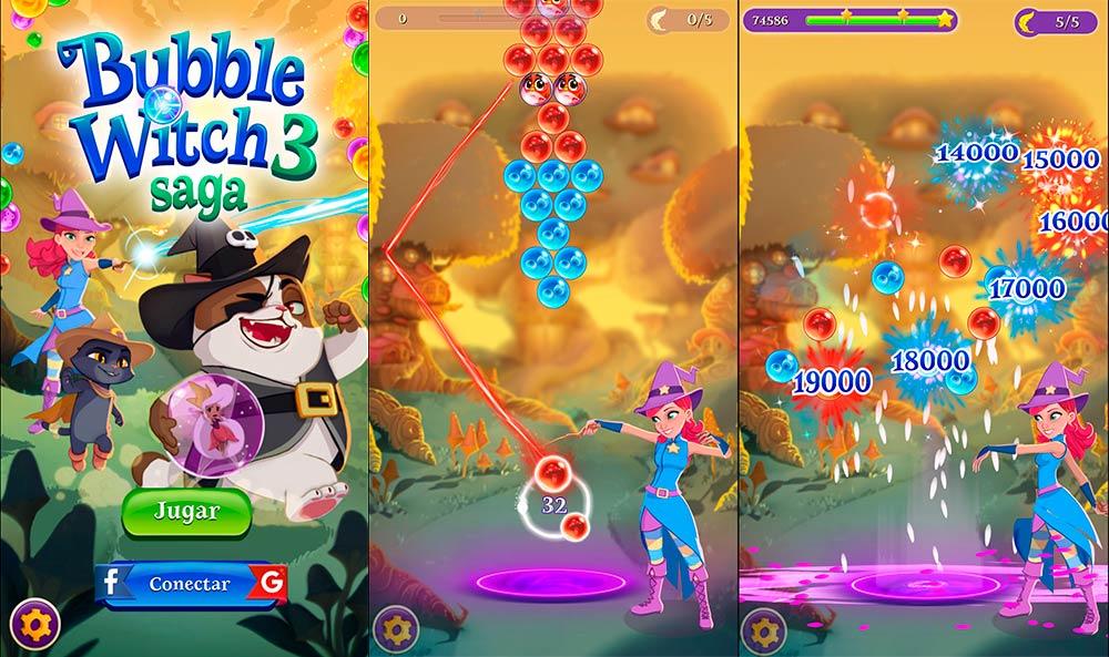 🎖▷ Bubble Witch 3 Saga, le nouveau jeu de balle du roi -