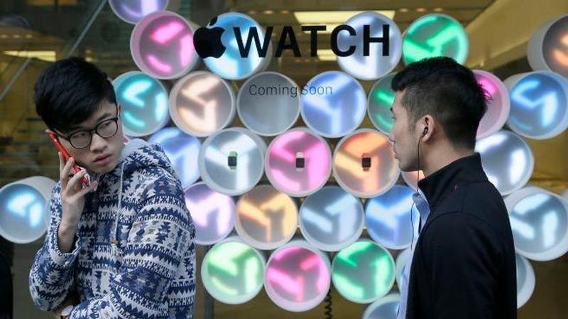 apple watch store china