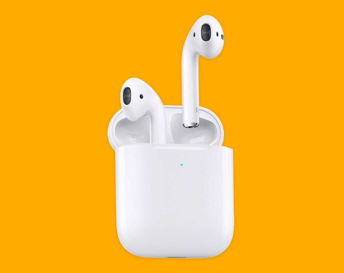 new Apple AirPods end headphones 2019