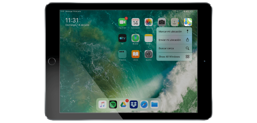How to use 3D Touch mens on iPadOS