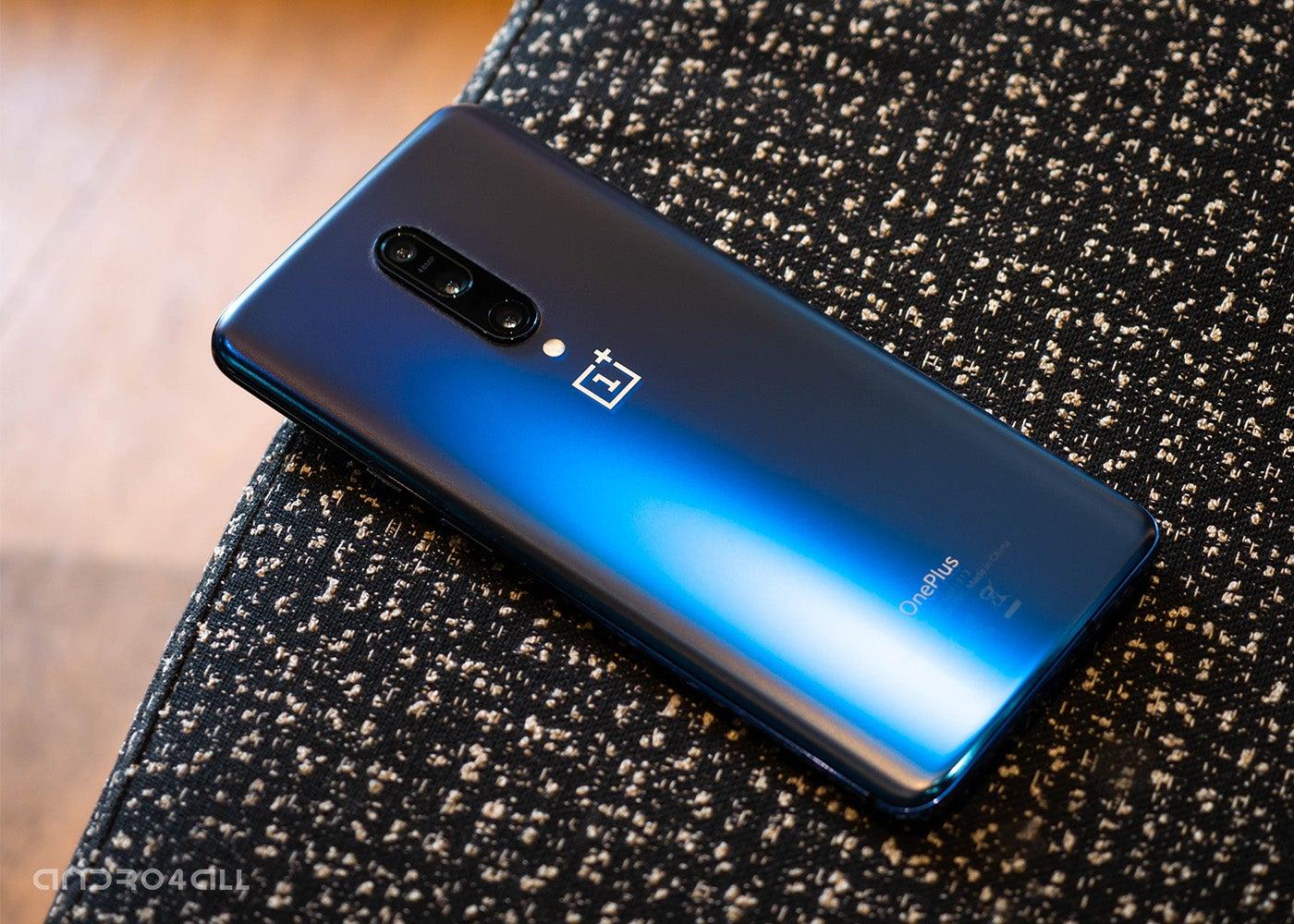 OnePlus 7 Pro, blue back