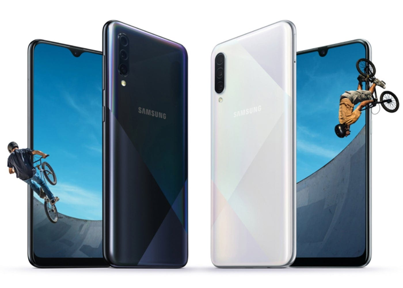Samsung Galaxy A50s vs A30s: main differences