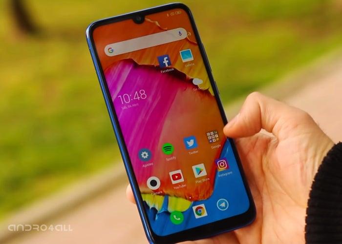 Redmi Note 7, screen