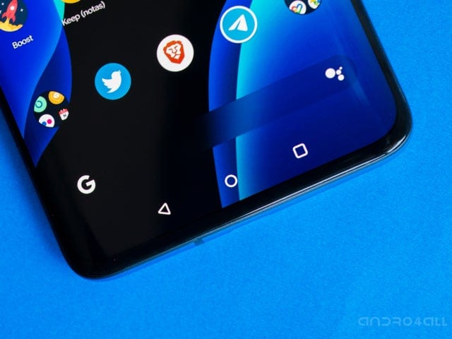How to hide virtual buttons on Android