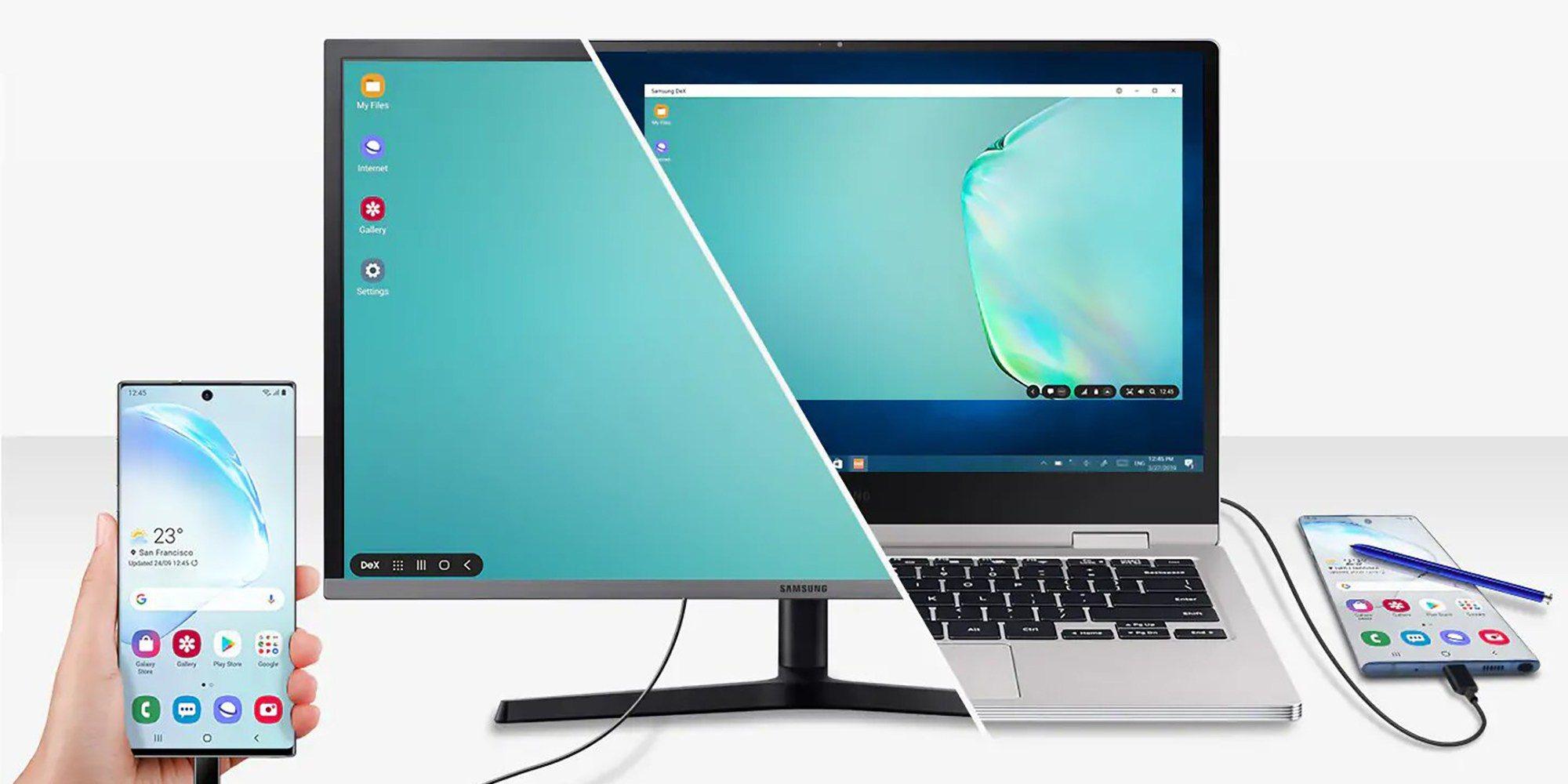 Samsung DeX Note 10