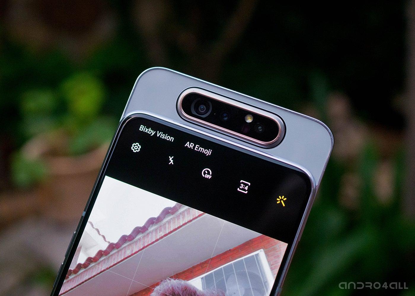 Samsung Galaxy A80 cameras
