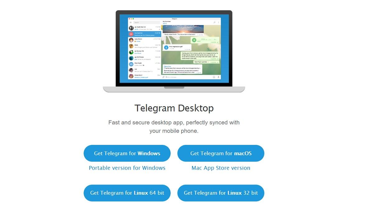 Telegram Desktop download