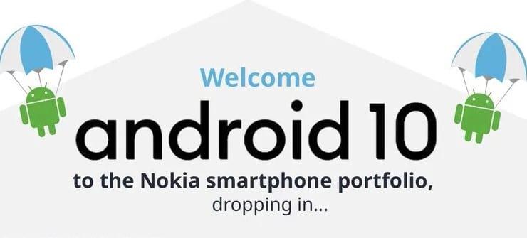 Nokia reveals Android 10 update calendar »ERdC