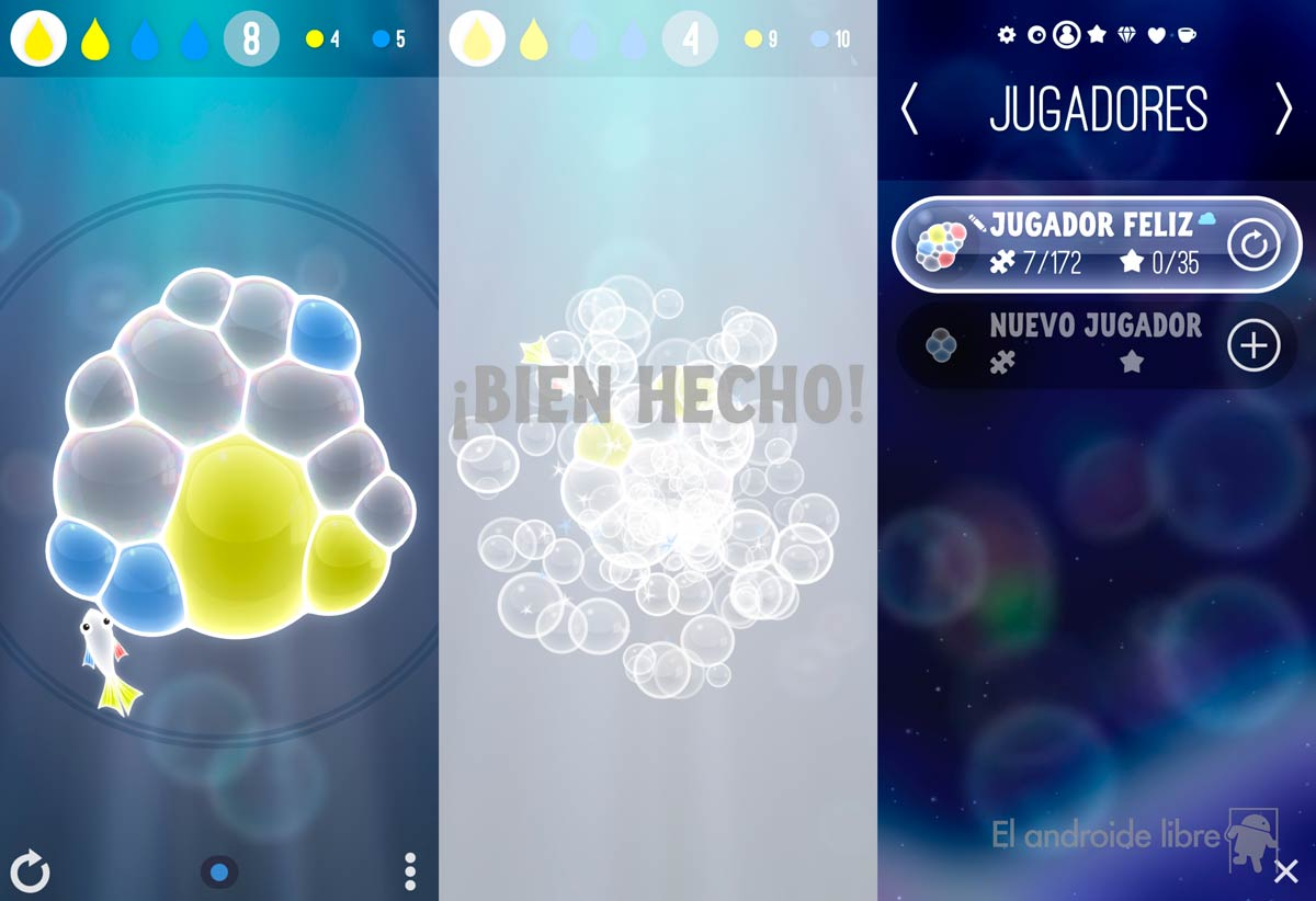 The most beautiful and challenging puzzle game for your Android: Bubbles