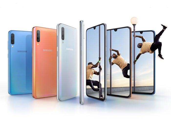Samsung Galaxy A70 colors