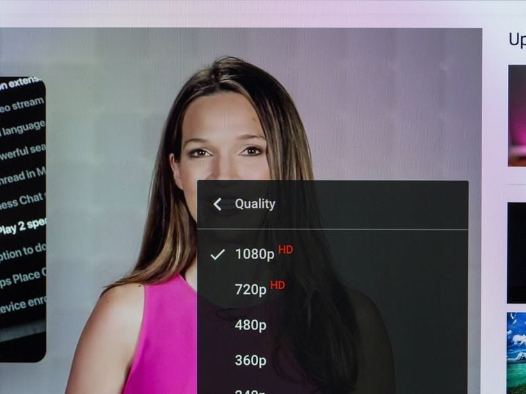 Change the quality of YouTube videos on your phone, TV and laptop