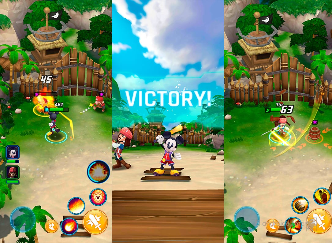 Download the new Disney game on your mobile: Disney Epic Quest
