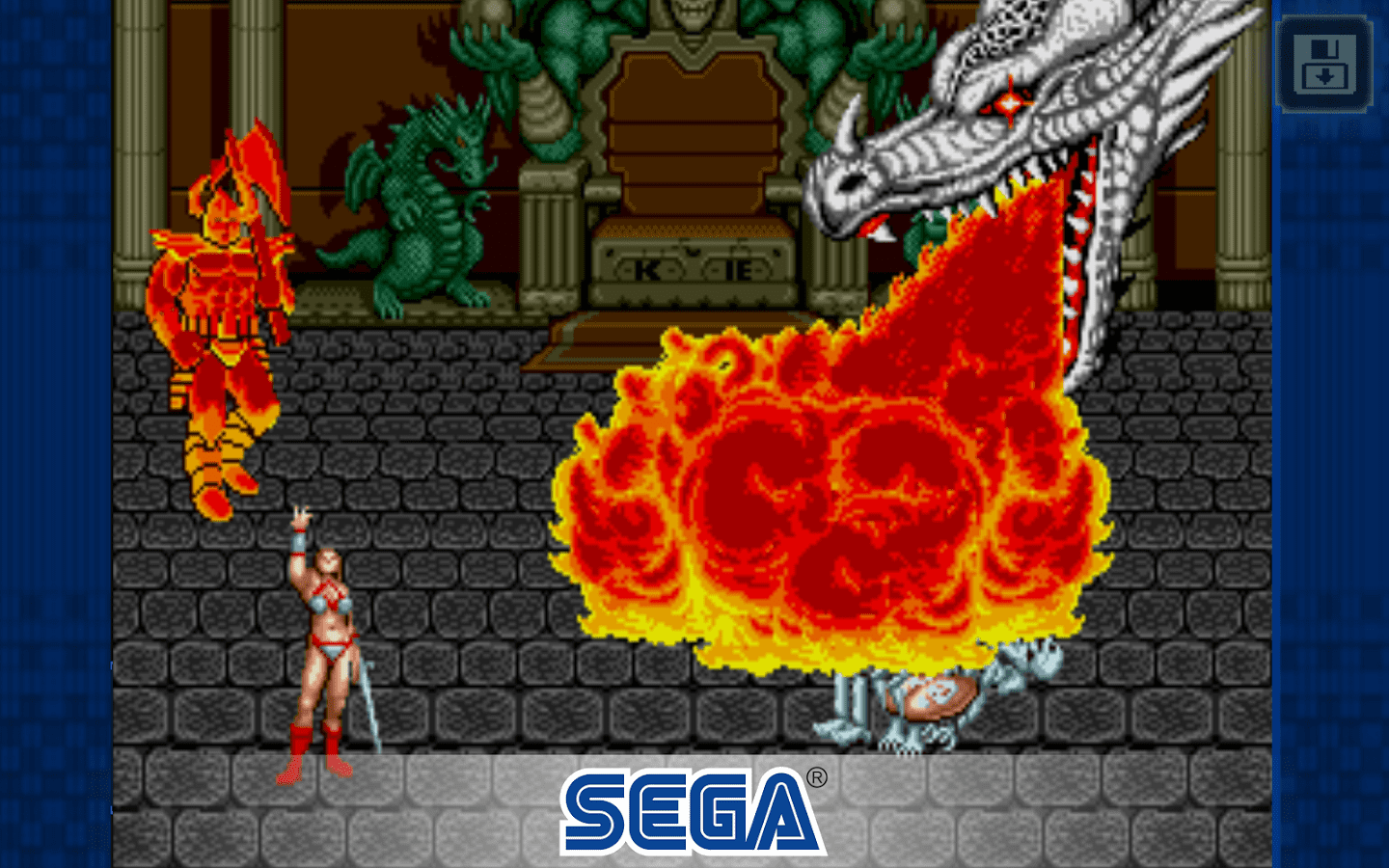 3 x1 in SEGA free games: Golden Ax completes the trilogy