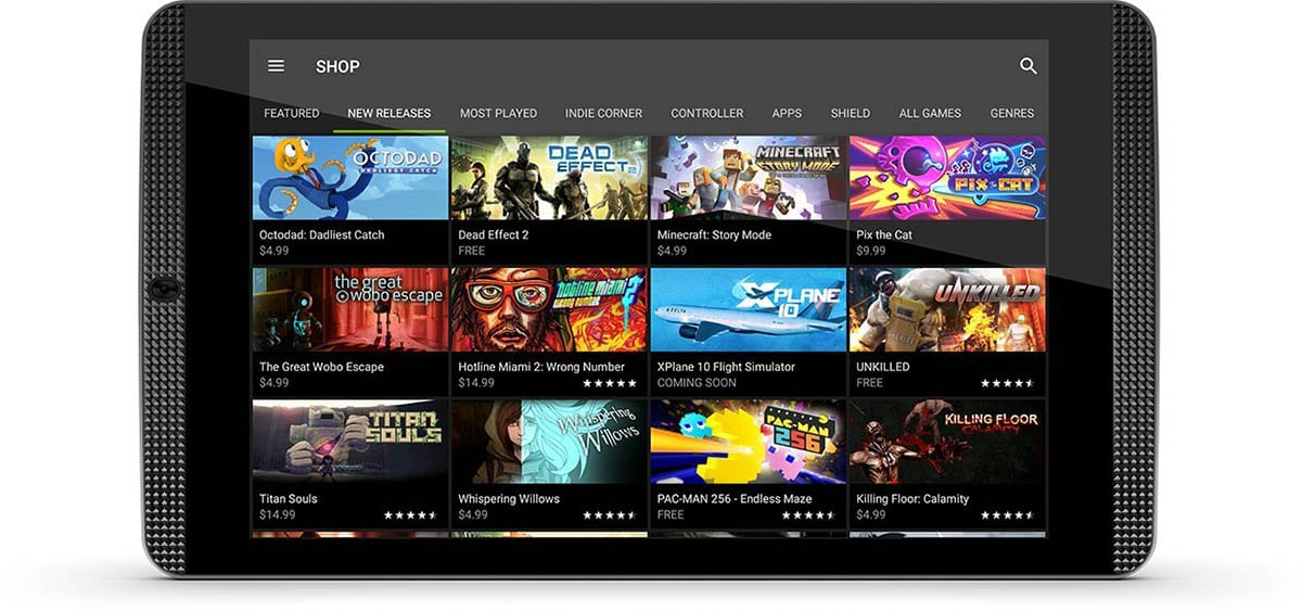 Nvidia Shield Tablet K1, relaunch of the gaming tablet