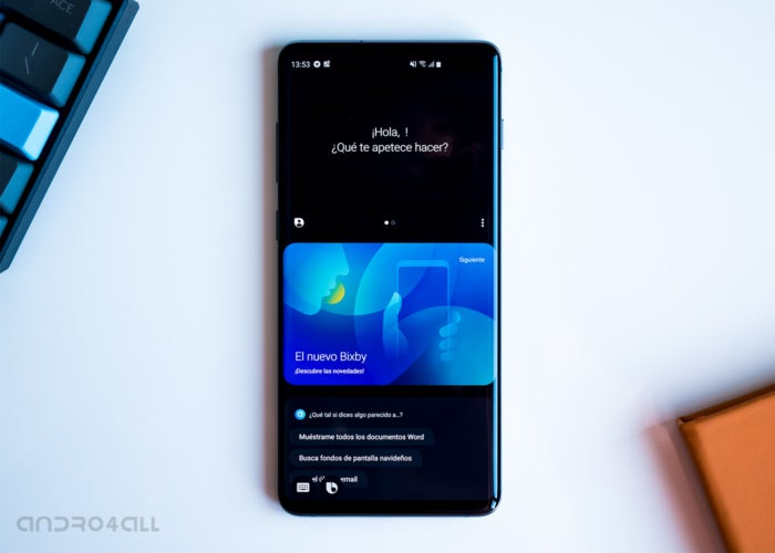 Bixby on Samsung Galaxy S10 +