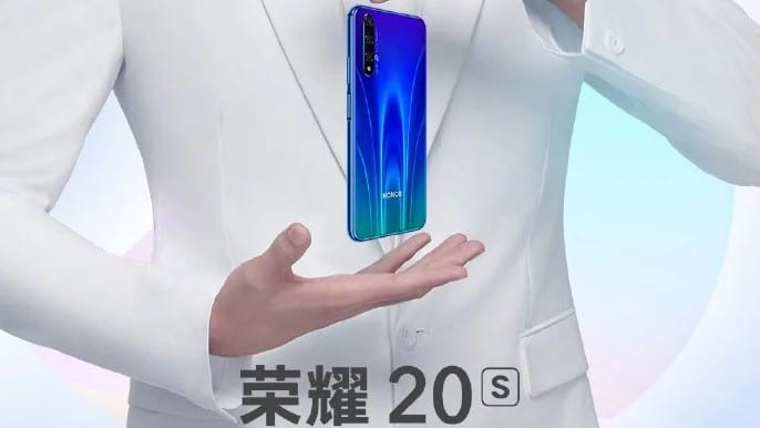 The Honor 20S will be presented on September 4 »ERdC