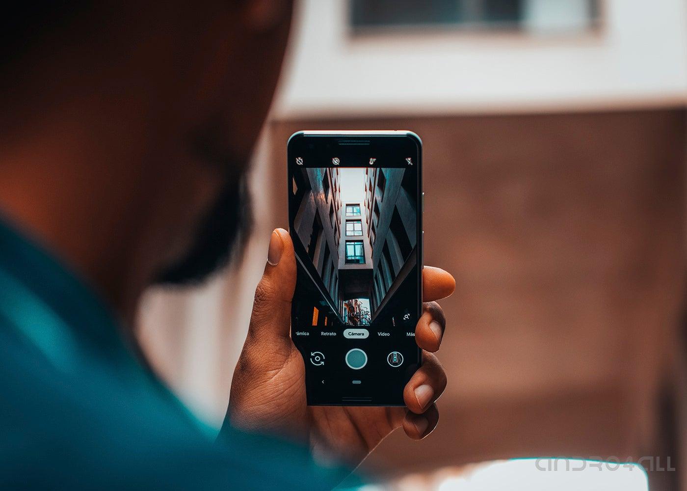 Google Pixel 3 photo camera