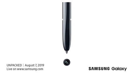 Samsung Galaxy Note10 Invitation