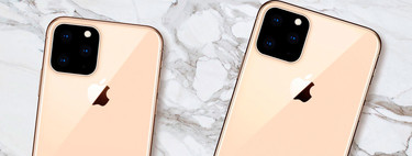 An iPhone XI with three rear cameras in triangle: more and more leaks point to this photographic scheme