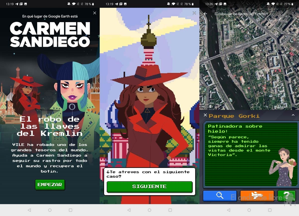 Carmen Sandiego returns to Google Earth: play her last chapter