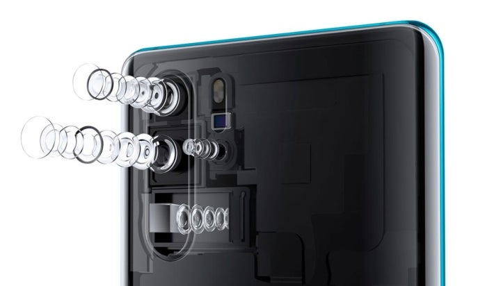 Huawei P30 ToF camera