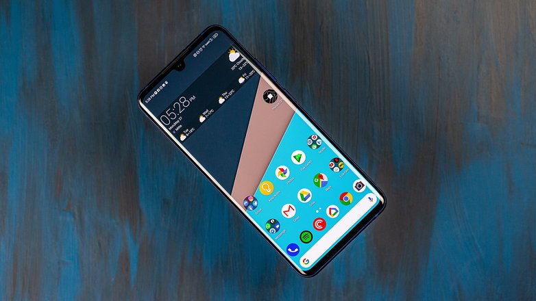 androidpit zte axon 10 pro full front display