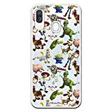 Toy Story Samsung Galaxy A40 case. Case with The Silhouettes of the Toy Story Characters, a Case with Official Disney License to Protect your Samsung from scratches and bumps.