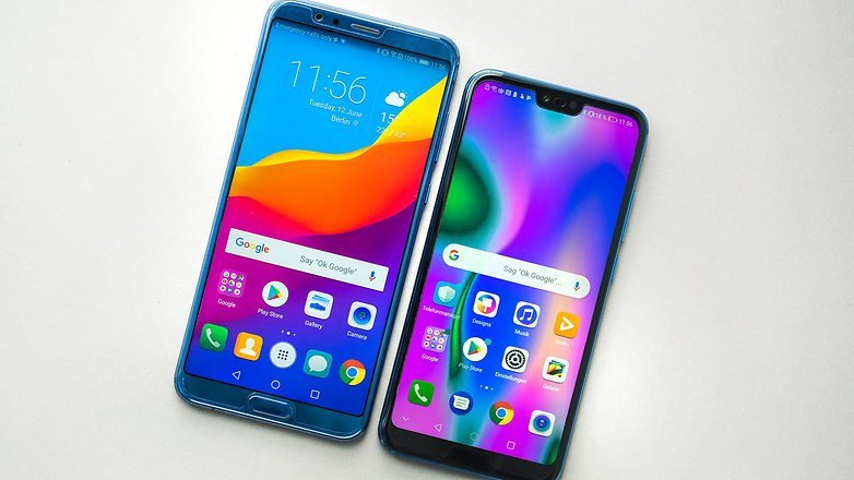 AndroidPIT honor 10 vs view 10 8209