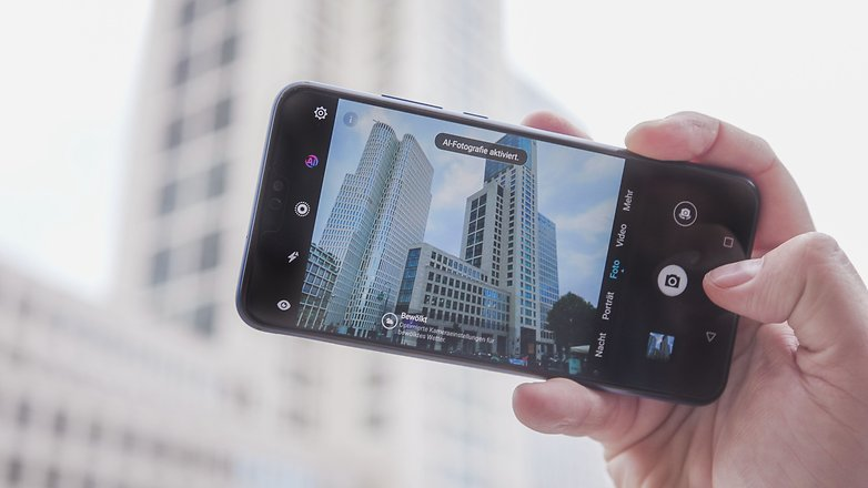 AndroidPIT honor 8x ai camera
