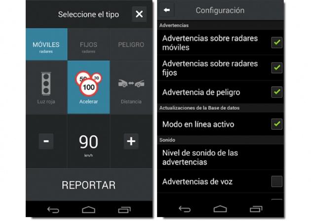 """CamSam Android radar app """"width ="""" 630 """"height ="""" 447"""