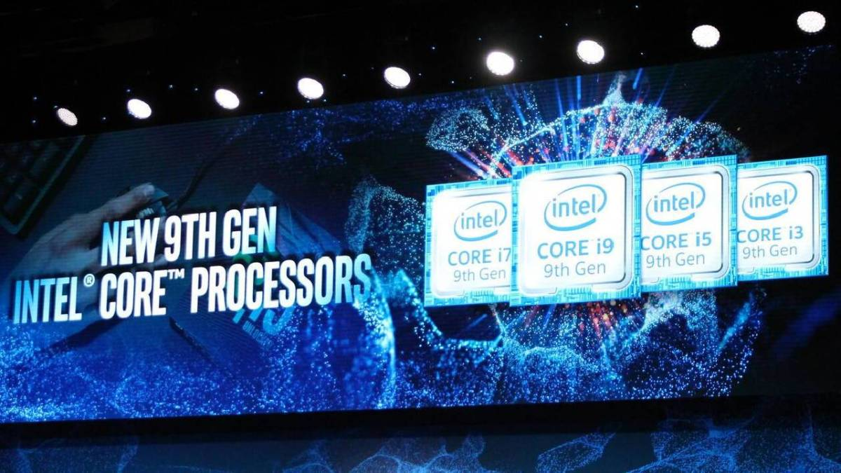 Intel gives the details of 6 processors of its 9th generation # CES2019