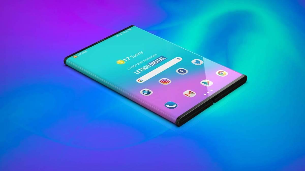 Renders of how Xiaomi folding smartphone can look