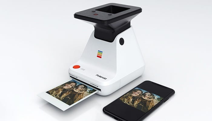 the new printer that converts your photos into real Polaroid