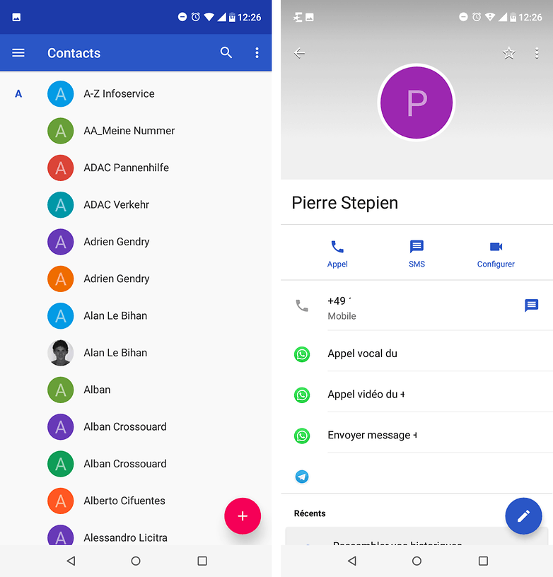 androidpit FR contacts