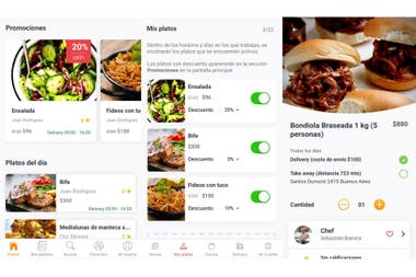 Pinny sets up a virtual market for amateur chefs and people looking to sell homemade food