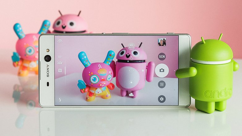AndroidPIT sony xperia xa ultra review 2815