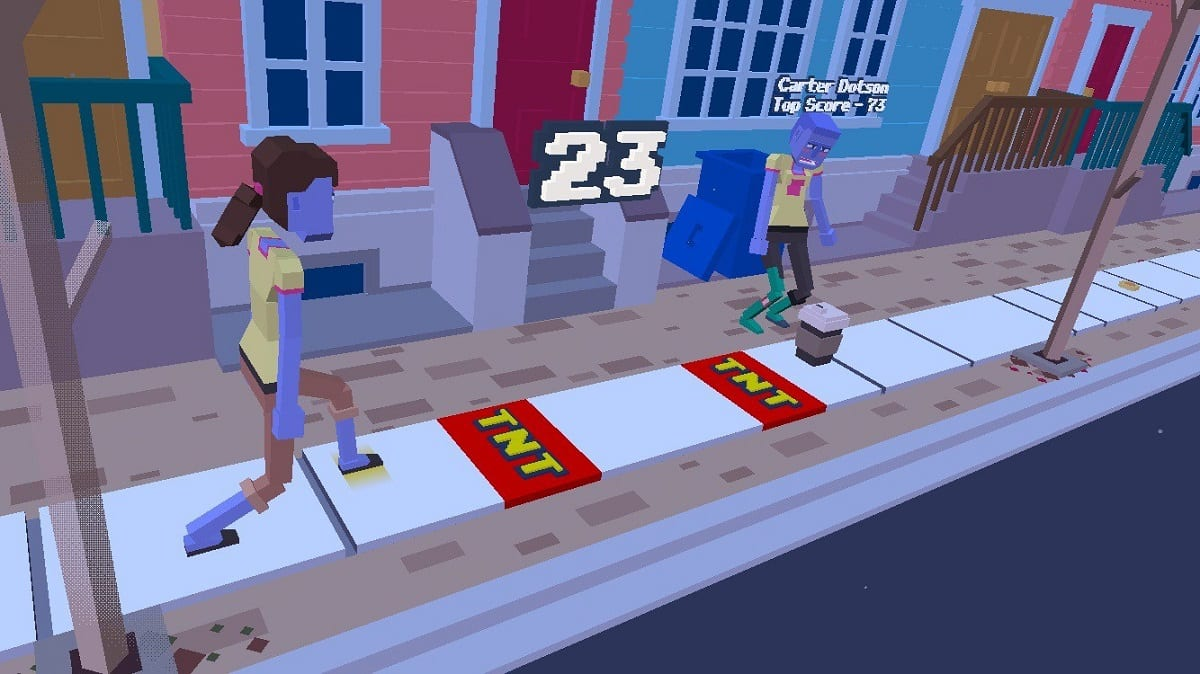 Yes, you will have to learn to walk again to play this game