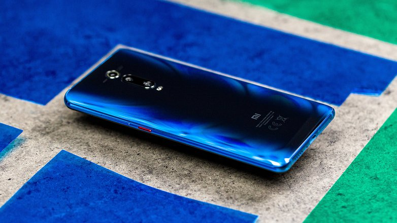 androidpit xiaomi mi 9t side buttons