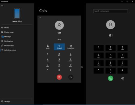 Calls Your Phone Windows 10