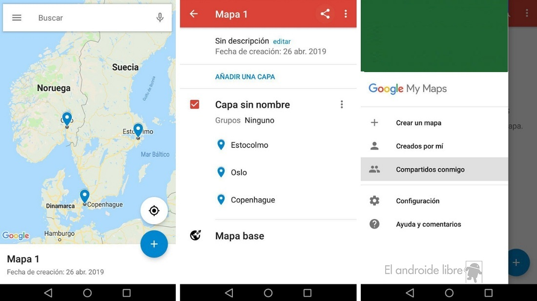 Share maps on Google My Maps