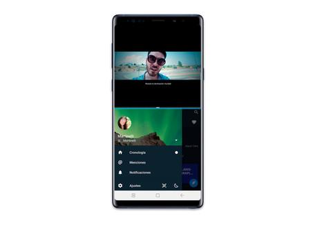 One UI split screen