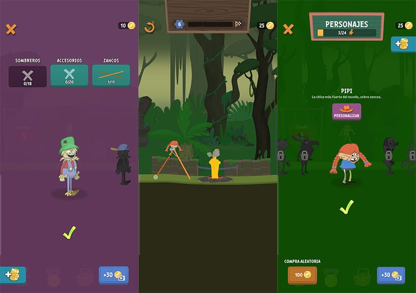 Characters in Walk Master