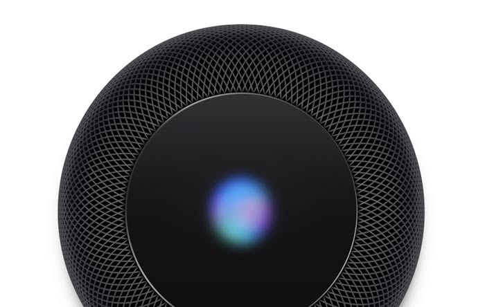 Apple HomePod works with Siri assistant