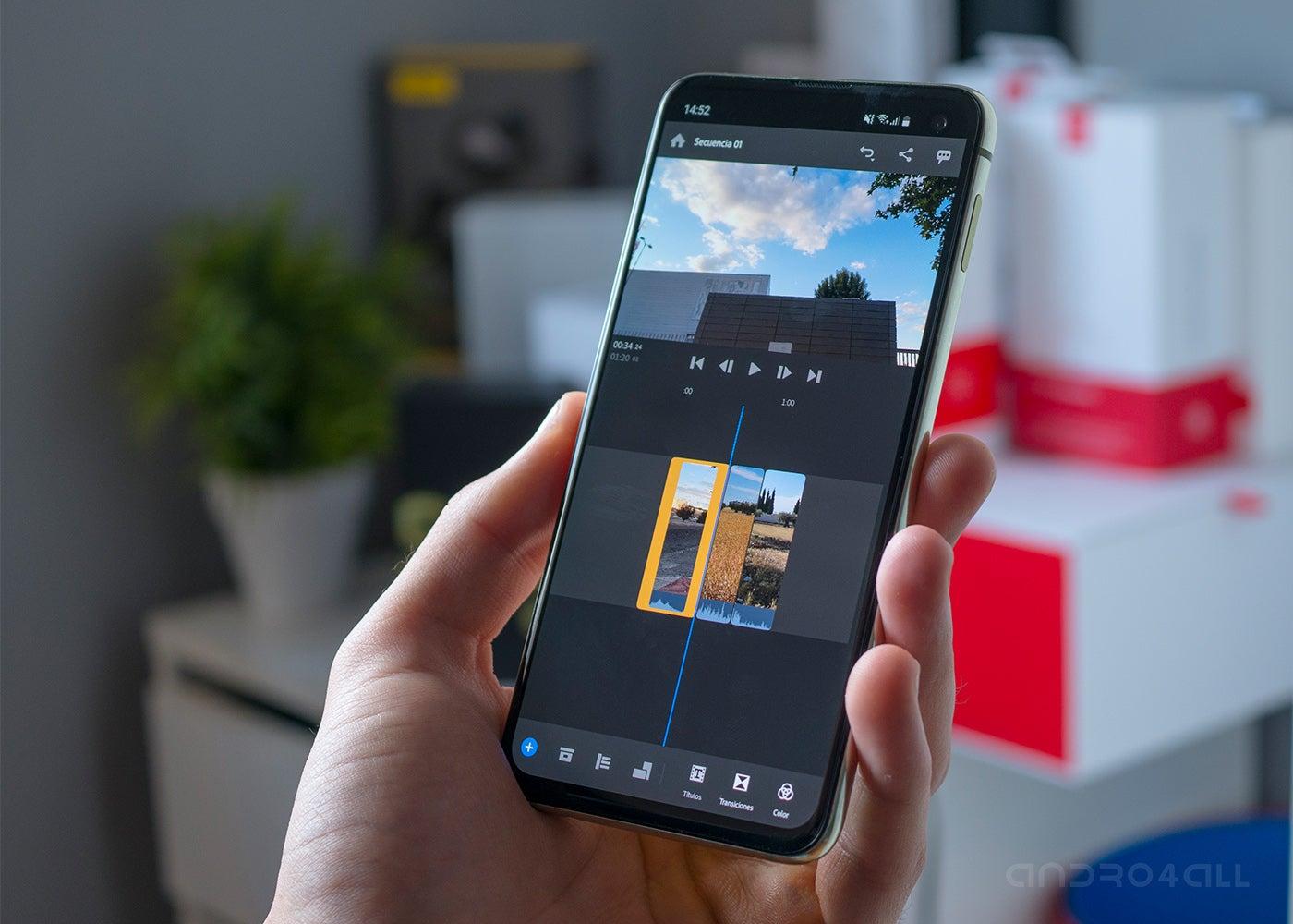 Adobe Premiere Rush para Android