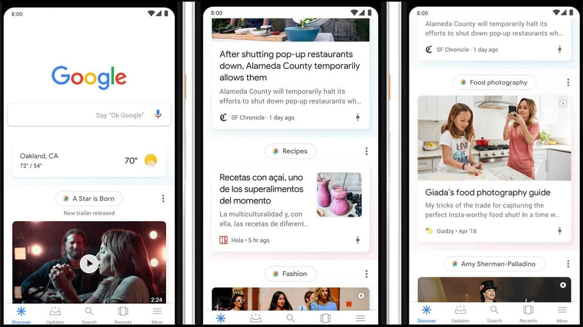 How to follow topics that interest us in Google Discover