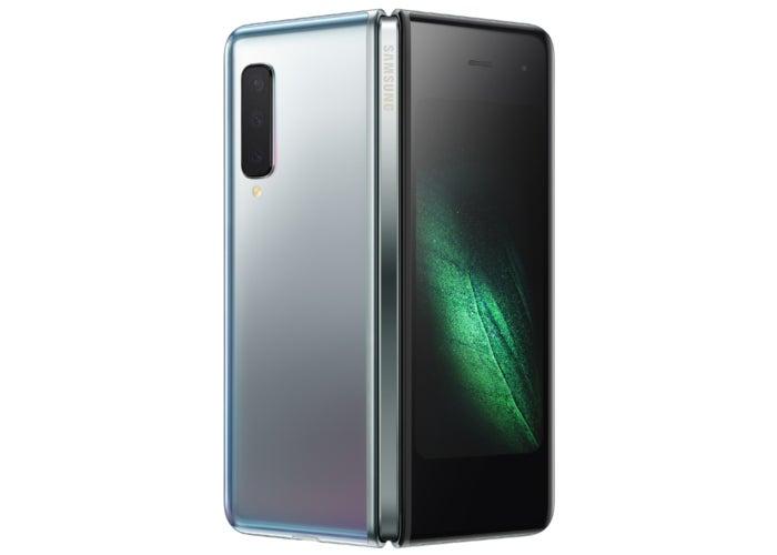 Samsung Galaxy Fold sylver