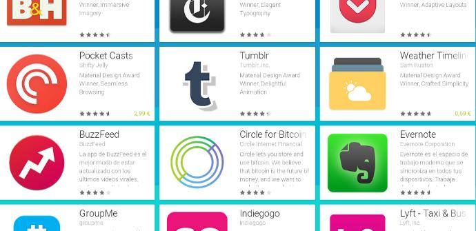 Apps material design