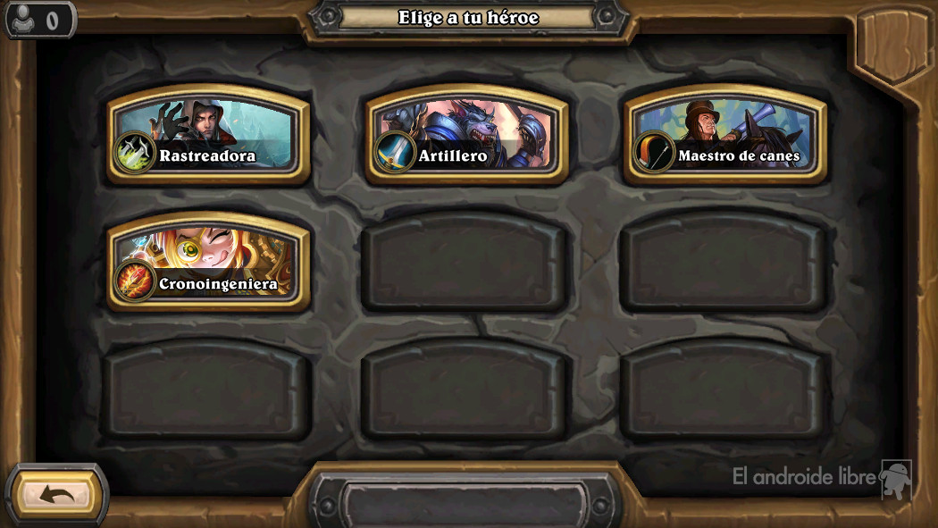 Play the Hearthstone Adventure of Haunted Forest: the Hunt