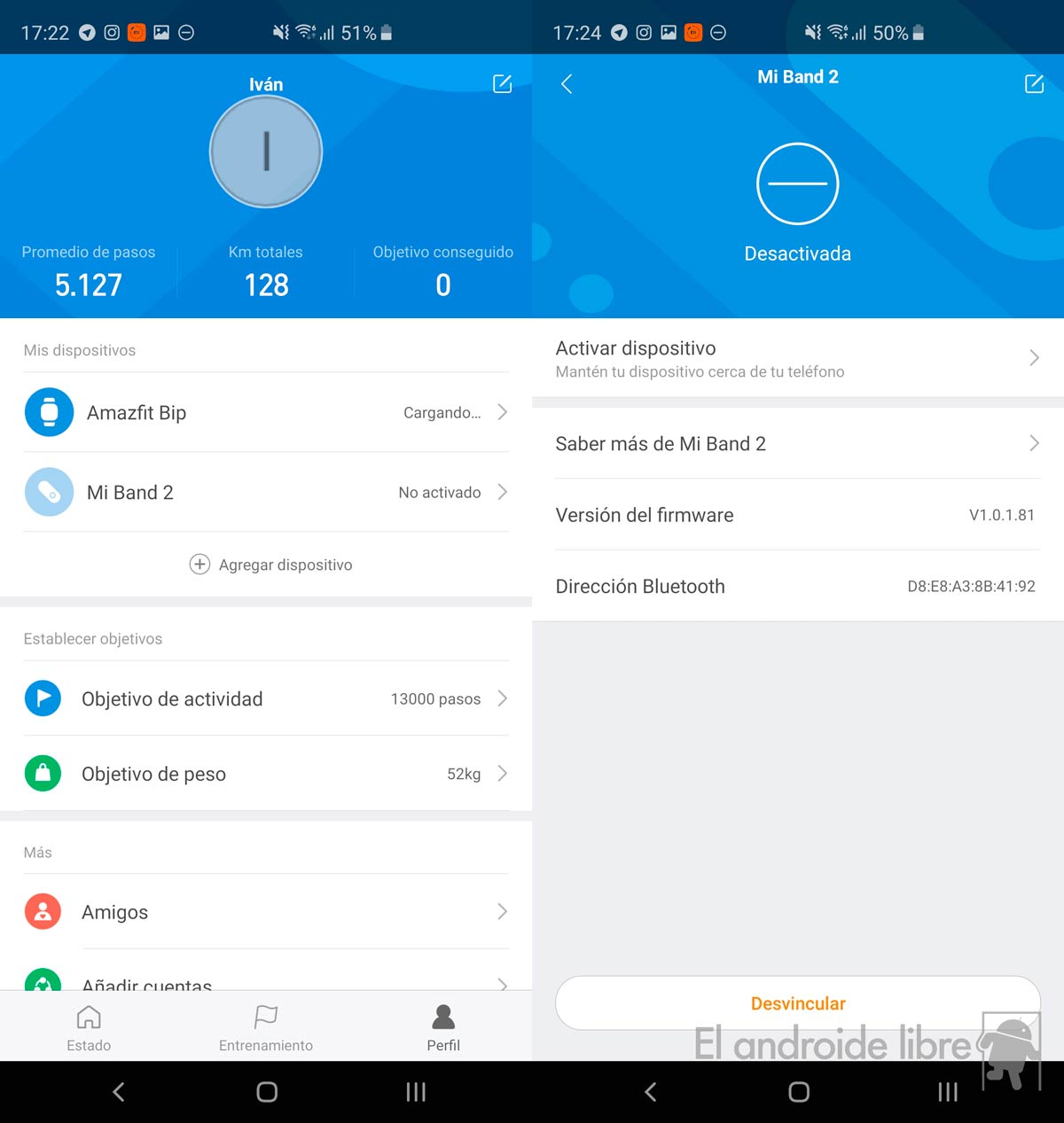 Connect all your Xiaomi Mi Band and Amazfit with the latest from Mi Fit