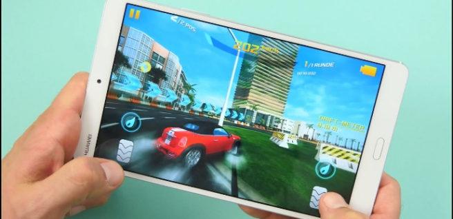 Huawei MediaPad M3 car game